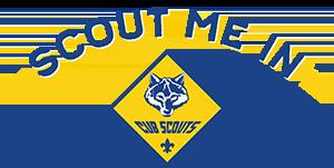 Cub Scouts - Scout Me In! Logo