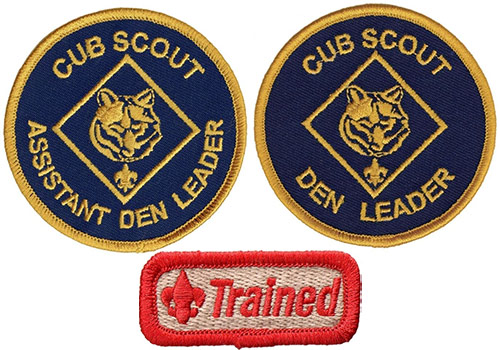 Cub Scout Volunteer Patches